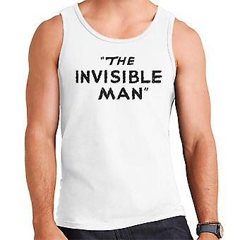 The Invisible Man Logo Men's Vest