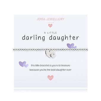 Joma Jewellery A Little Darling Daughter 10.5cm Stretch Bracelet C446