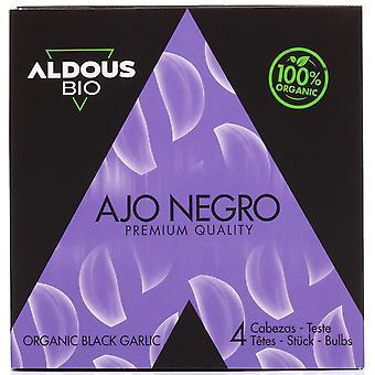 Authentische spanische Bio schwarzen Knoblauch - 4 Köpfe