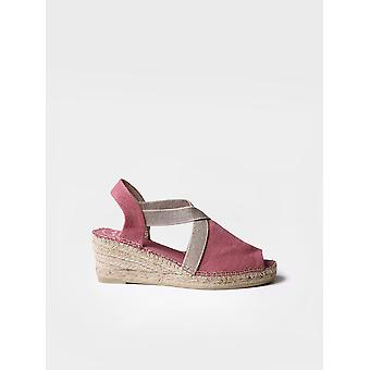 BREDA-V -  Vegan Espadrille for woman by Toni Pons made of fabric.