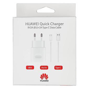 公式ファーウェイAP32 9V 2A EUタイプC USBクイックチャージャー - 小売パック