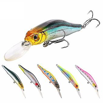 SeaKnight SK022 1PC 9g 80mm 0-1.5m Depth Minnow Fishing Lure BKK Hooks Fishing Hard Baits