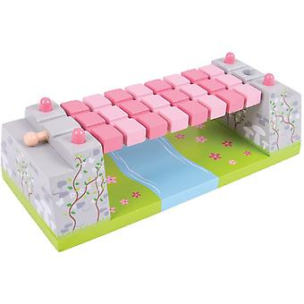 Bigjigs Rail Pink Fairy Rope Bridge