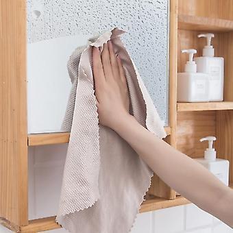 Chiffon de nettoyage de serviette de cuisine pour le chiffon de plancher de voiture de fenêtre (comme image 3pcs)