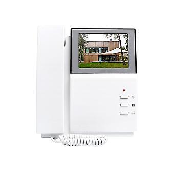 """4,3"""" Lcd-videopuhelin, ovikellopuhelinjärjestelmä, kaksiosainen ääni luurilla"""