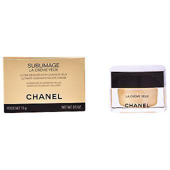 Chanel Sublimage La Creme Yeux Maxima Regeneracion Contorno De Ojos 15 gr