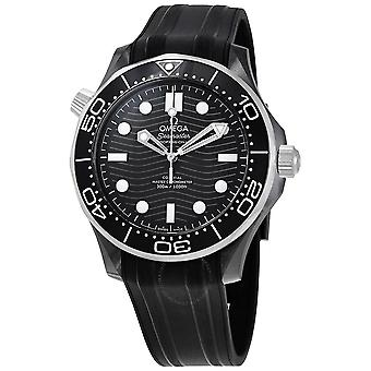 Omega Automatic Chronometer Black Dial Watch 210.92.44.20.01.001