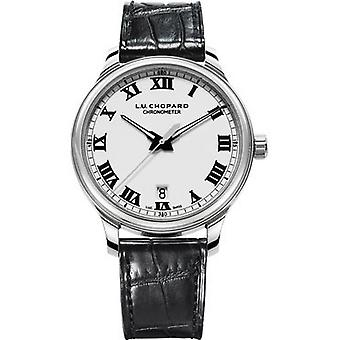 Chopard L.U.C. 1937 Classic Automatic White Dial Stainless Steel Men's Watch 168544-3001
