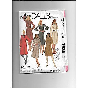 McCalls Naaipatroon 7638 Missers Pullover Jurk Maat 12-16