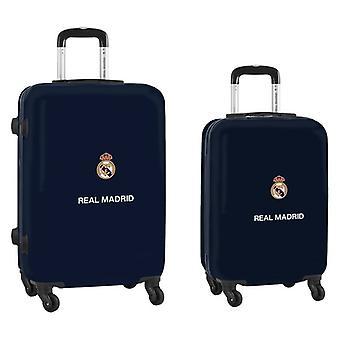 Cabin Trolley Real Madrid C.F. Navy Blue 20''/24'' (2 kpl)