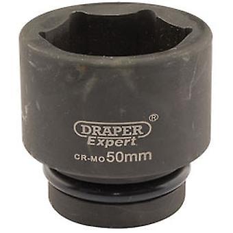 דרייפר 5125 מומחה 50mm 1 כונן הכיכר Hi-Torq השפעת נקודת שקע