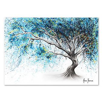 Art-Poster - Blue Crystal Dream Tree - Ashvin Harrison
