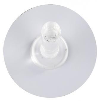 towel hook Static-Loc 5 x 2.5 cm polycarbonate white