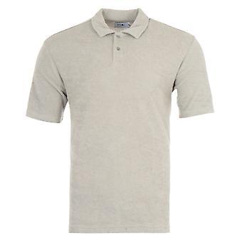 NN07 Alfons Cotton Terry Blend Polo Shirt - Grey