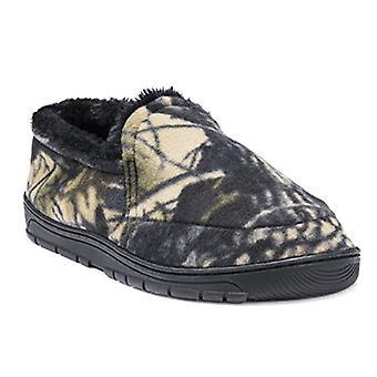 MUK LUKS Men's Camouflage Espadrille Slipper