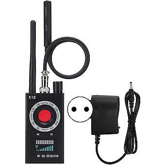 K18 Anti-Candid Signal RF Camera Detector GPS GSM Audio Finder Scanner 100-240V, Anti-Spy Detector, Anti Spy Camera, For Wireless Audio Bug Camera Detector Finder (black)