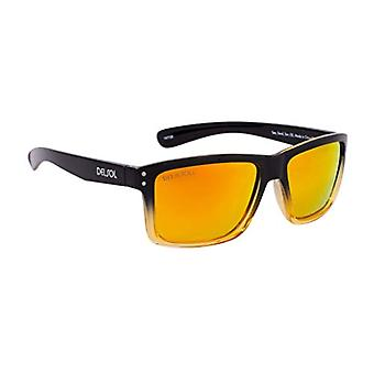 Del Sol DelSol Solize Sea Sand Sun changes color from black and transparent to yellow for unisex Polarized Pro lenses, to Ref. 0885377533937