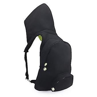 MorikukkoMorikukko Hooded Backpack Black Neon YellowUnisex - AdultZainiNero (Black Neon Yellow)33x8x40 Centimeters (W x H x L)