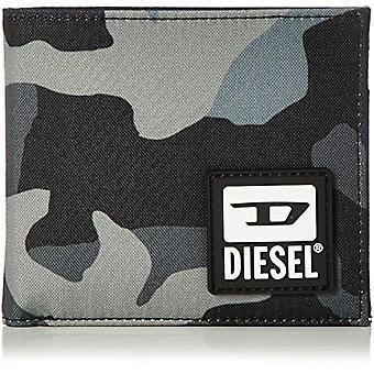 Diesel BULERO HIRESH S Wallet, Herren Reisetaschen Zubehör, Schwarz/Elefant