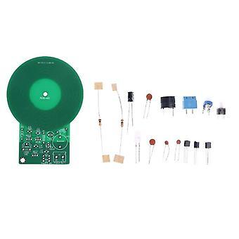 Metalldetektor Dc 3v-5v Diy montiert elektronische Kit Schweißen Übungsbrett