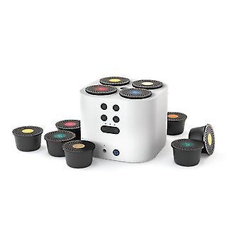 Moodo Smart aroma diffuser white incl. capsule set (with a plug)