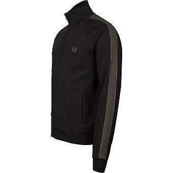 Fred Perry Contrast Tape Track Top