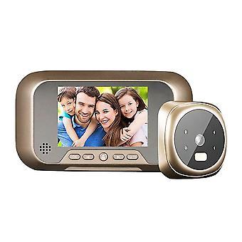 3.0'' Ψηφιακή κάμερα hd κάμερας LCD θεατών πορτών με τη γωνία ευρείας άποψης νυχτερινής όρασης για την εγχώρια ασφάλεια