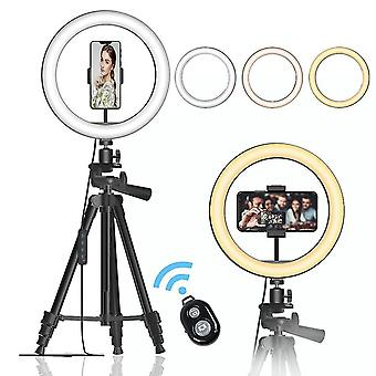 26Cm light ring mobile phone live ring selfie bracket