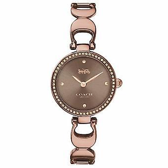 Coach Women's Park Brown Dial Watch - 14503563
