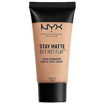 NYX Professional Make Up NYX Stay Matt Men inte Platt Flytande Foundatio 35ml Beige 05