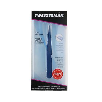 Tweezerman Slant Tweezer - Bell Bottom Blue