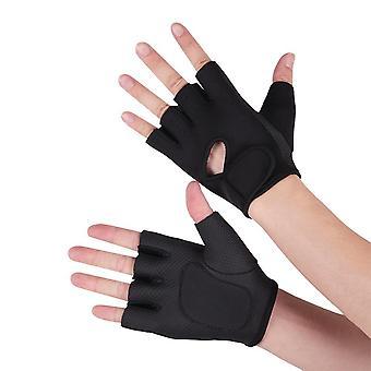Gym Fitness Handskar, ventilerande kropp bygga handledshandskar
