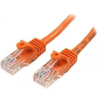StarTech 45PAT5MOR 5m Cat5e U/UTP (UTP) Pomarańczowy kabel sieciowy