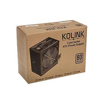 Kolink Core Series 500W 120mm Automatic Control Fan 80 PLUS Certified PSU UK Plug