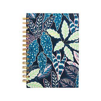 Sass &belle brogede blade A5 notebook