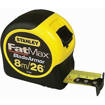 Stanley FatMax Blade Armor Longitud de la cinta métrica / imperial: 8m (26ft) x Ancho: 32mm