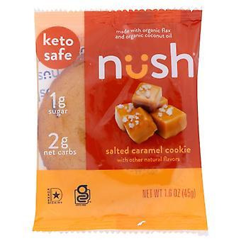 Nush Bar Solený karamelový koláčik, prípad 10 X 1,6 Oz