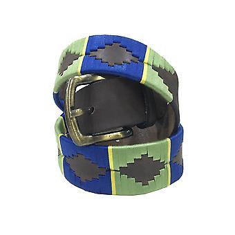 Carlos Díaz cinturón de cuero marrón awo6684623536293