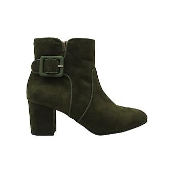 WHITE MOUNTAIN Calisi Ankle Booties Olive 5M