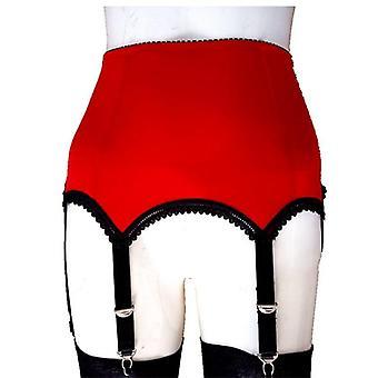 Sexy Women High Waist Mesh Suspender Lingerie