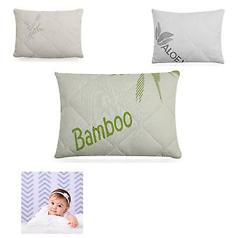 Lorelli Baby Pillow Cosy Storlek 38 x 29 cm Silikon Dunfyllningslock Avtagbar