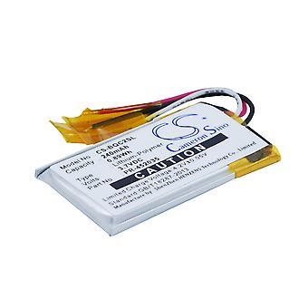 Wireless Headset Battery for Bose PR-452035 QC20 QuietComfort 20 CS-BQC2SL 240mA