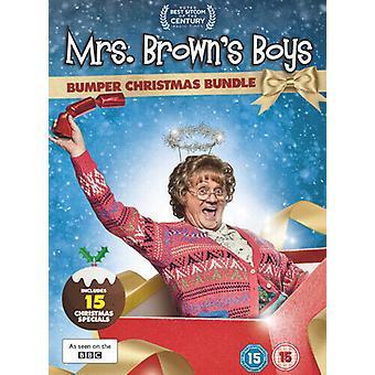 Mrs Browns Boys Christmas Collection DVD (2019) Brendan OCarroll Zertifikat 15 7 Region 2