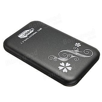 USB 3.0 2.5inch behuizing Box Slim SATA HDD harde schijf case ZWART