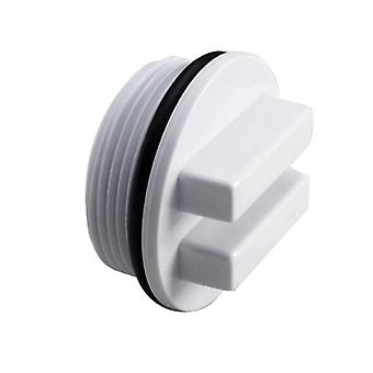 """1.5"""" Threaded Pool Plug Antifreeze Drain Plug Strainer Hole Stopper With Sealed Rubber Ring For"""
