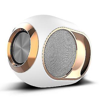 Nuovi altoparlanti bluetooth 5.0 altoparlanti wireless stereo surround musica basso altoparlante bianco #9484