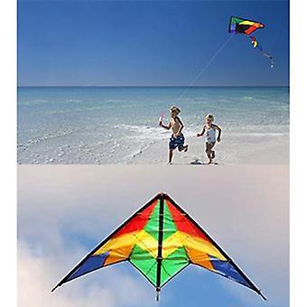 Große Delta Kites Tails mit Griff
