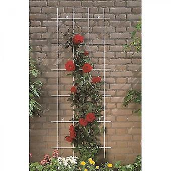 Rektangulär galvaniserad ståltråd mesh 42,5xh145cm
