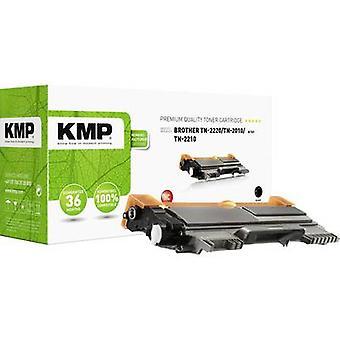 Cartucho de tóner KMP reemplazó a Brother TN-2010, TN-2210, TN-2220, TN2010, TN2210, TN2220 Compatible Black 2600 Sides B-T47