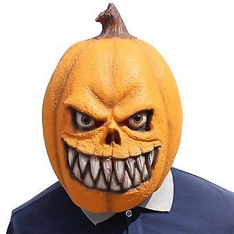 Halloween Party Horror Máscara cosplay Abóbora Cabeça Engraçada Festa De Látex Carnaval Mascara Adereços de Anime